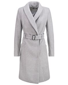 KIOMI Damen Wollmantel / klassischer Mantel light grey - bei MYBESTBRANDS entdecken ✓