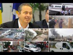 Últimas palavras do piloto antes da queda de avião com Eduardo Campos