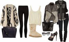 Üniversite İçin Kıyafet Kombinleri #outfit