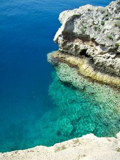 """The colour of the sea... Kithira, Greece. Sometimes I see pictures of Greece and I think, """"so that's where my heaart is..."""" It's pictures like this that make me think that"""