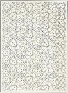pattern in islamic art, bou