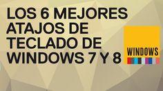 Los 6 mejores trucos de atajos de teclado de Windows 7 y 8. Mejores tecl...