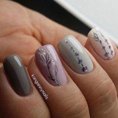 Nail Art Nails Spring nails, Nail designs, Autumn nails fall nails how to - Fall Nails Best Nail Art Designs, Colorful Nail Designs, Nail Designs Spring, Beautiful Nail Designs, Grey Nail Designs, Colorful Nails, Spring Nail Art, Spring Nails, Trendy Nails
