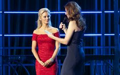 Miss America 2013 | Out + About Features | The Best of the Twin Cities | Mpls.St..Paul Magazine: Siri competes in on-stage question during preliminary competition.
