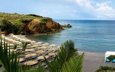 Beach, Agia Pelagia Enjoy your holidays in #Crete at #OutOfTheBlueCapsis.