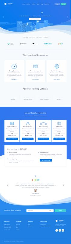Engine Hosting is Premium full #ResponsiveTemplate. Retina Ready. Bootstrap 3 Framework. If you like this #Hosting Template visit our handpicked list of best #HostingTemplates at: http://www.responsivemiracle.com/best-html5-hosting-templates-2018/