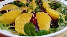 ¡Huele Bien!: Ensalada de naranja y remolacha