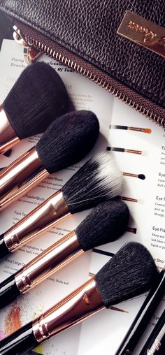 We're some of the first to say how important quality makeup brushes can be, but what's equally impor Best Makeup Brushes, Makeup 101, How To Clean Makeup Brushes, Makeup Goals, Makeup Brush Set, Best Makeup Products, Beauty Makeup, Hair Makeup, Makeup Utensils