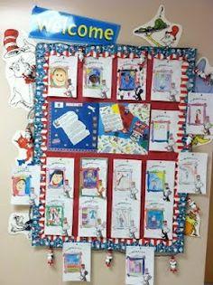TONS of Dr. Seuss classroom themed ideas.
