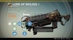 Lord of wolves exotic shotgun