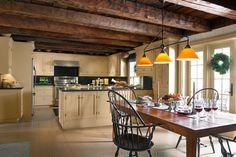 a remodeled farmhouse kitchen