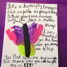 grandparents day crafts for preschoolers Mothers Day Craft Ideas Mothers Day Crafts Preschool, Grandparents Day Crafts, Fathers Day Crafts, Butterfly Poems, Butterfly Crafts, Diy Holiday Gifts, Holiday Crafts For Kids, Thumbprint Crafts, Holidays With Toddlers