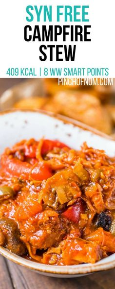 Syn Free Campfire Stew | Pinch Of Nom Slimming World Recipes 409 kcal | Syn Free | 8 Weight Watchers Smart Points