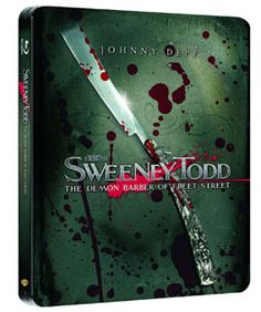 Sweeney Todd – Der teuflische Barbier aus der Fleet Street Steelbook Amazon Exklusiv