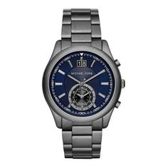 Michael Kors Mens Aiden Chronograph Leather Watch