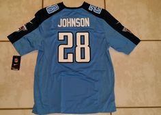NWT Nike On Field Tennessee Titans Chris Johnson NFL Jersey Men's Medium in Sports Mem, Cards & Fan Shop, Fan Apparel & Souvenirs, Football-NFL | eBay