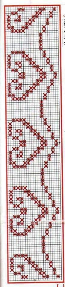 Discover thousands of images about Chicken Scratch, Broderie Suisse, Swiss embroidery, Bordado espanol, Stof veranderen. Cross Stitch Heart, Cross Stitch Borders, Cross Stitching, Cross Stitch Patterns, Chicken Scratch Patterns, Chicken Scratch Embroidery, Ribbon Embroidery, Cross Stitch Embroidery, Embroidery Patterns