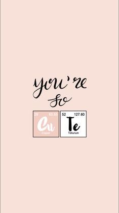 iphone wallpaper so cute chemistry