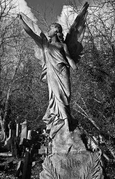 victorian angel tombstones