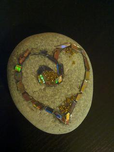 Mosaico su pietra     Graziella G. 2016