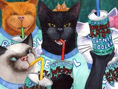 """Help """"Wicked Kitty"""" publish his 2016 Calendar, pre-order your copy by """"backing"""" him on Kickstarter."""
