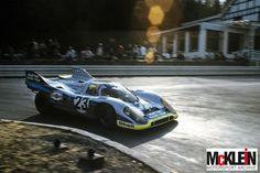 Gijs van Lennep, Helmut Marko - Porsche 917K - 1971 - spa 1,000 km