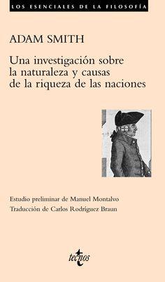 investigacion sobre la naturaleza y causa de la riqueza de las naciones - RE 330.15 Sm51in