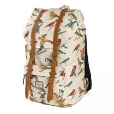 Herschel Little America Backpack Bird Print €129.95