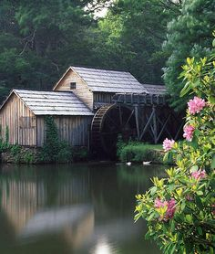 Mabry Mill, I worked here two summers. <3