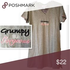a45ff3126e Nightshirt Gorgeous but grumpy nightshirt! Comfy and cute! Lettering  embroidered. 90% cotton 10% rayon. Rene Rofe Intimates   Sleepwear Pajamas