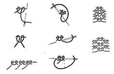 Sorbello stitch variations