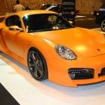 Porsche Cayman Customized Salon Automovil Madrid