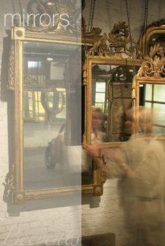 anouk beerents | antique mirrors #amsterdam