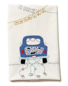 Tea Towel - Just Married - Wedding - Gift  $22.00