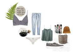 """but mOooooM"" by amsbullock on Polyvore featuring Pull&Bear, Mossimo, Esque Studio, Vans, Garden Trading, Ermanno Scervino Lingerie and ASOS"