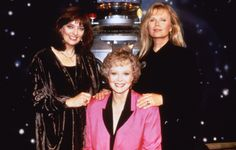 The Ladies of Lost In Space - Angela Cartwright - Robot - June Lockhart - Marta Kristin