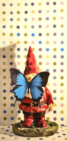 BUTTERFLY GE-NOME BY JOHN SCHIEFFER