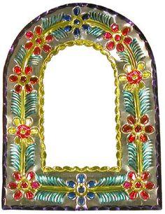 Multicolored Arch Mirror