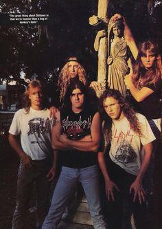 Obituary # Florida death metal # cause of death Line-up