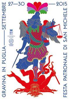 Poster for the Saint Michael Patronal festival - AGI
