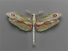 Image result for Rene Lalique insect jewelry