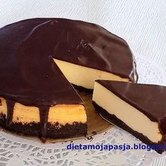 Polish Easter, Dessert Recipes, Desserts, Cake Cookies, Panna Cotta, Cheesecake, Food And Drink, Pudding, Sweets