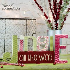 The Wood Connection - Jingle with Vinyl, $13.00 (http://thewoodconnection.com/jingle-with-vinyl/)