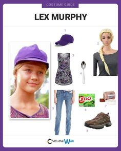 The best cosplaying guide for dressing up like Lex Murphy, the granddaughter of Jurassic Park founder John Hammond from the hit movie.