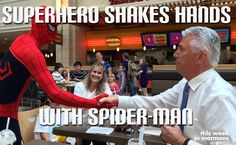 That one time Dieter F. Uchtdorf made Spider-man sore afraid.