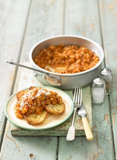 Homemade baked beans are simple and cheap to make, and they certainly taste better than the canned versions. Make a big batch and freeze in portions for up to three months.