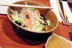 """Ikuze Chef Salad"" - IKUZE Restaurant, Sushi All You Can Eat Menu (9.5.13)"