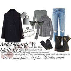 """""""Boondock Saints."""" inspired outfit. I have most of these items anyway so it makes me happy-er.  by dannah-reddix on Polyvore"""