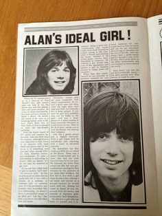 Alan Merrill in Star Maker magazine's debut issue, 1976 UK. #alan #merrill #arrows #uk #seventies #StarmakerMagazine #ArrowsBritishBand Vodka Collins, Magazine Maker, Ideal Girl, Arrows, Singer, Singers, Arrow