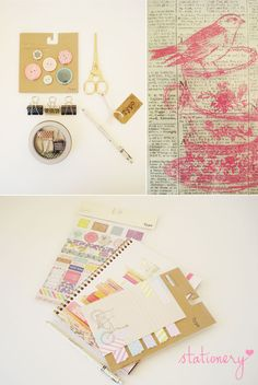 I looove stationery - see my latest finds featured on my blog today / www.nadiavdmescht.co.za